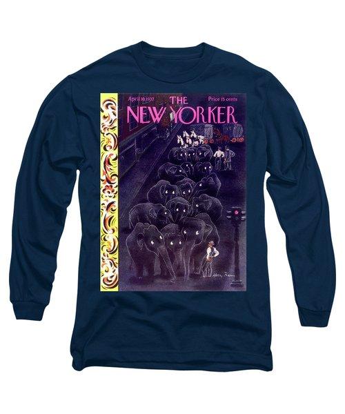 New Yorker April 10 1937 Long Sleeve T-Shirt