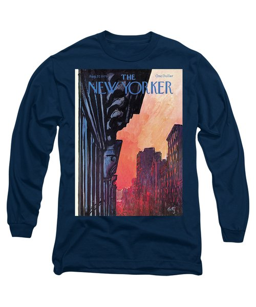 New Yorker August 27th, 1979 Long Sleeve T-Shirt