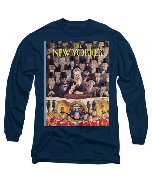 New Yorker January 25th, 1993 Long Sleeve T-Shirt