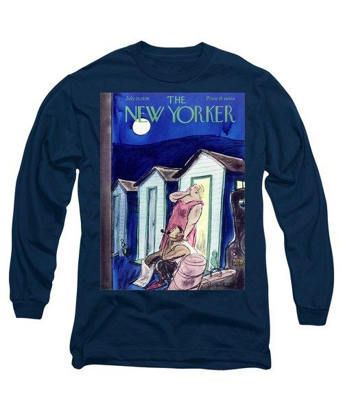New Yorker July 25 1936 Long Sleeve T-Shirt