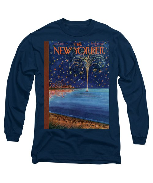 New Yorker July 6th, 1963 Long Sleeve T-Shirt