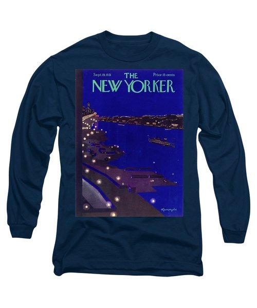 New Yorker September 19 1934 Long Sleeve T-Shirt
