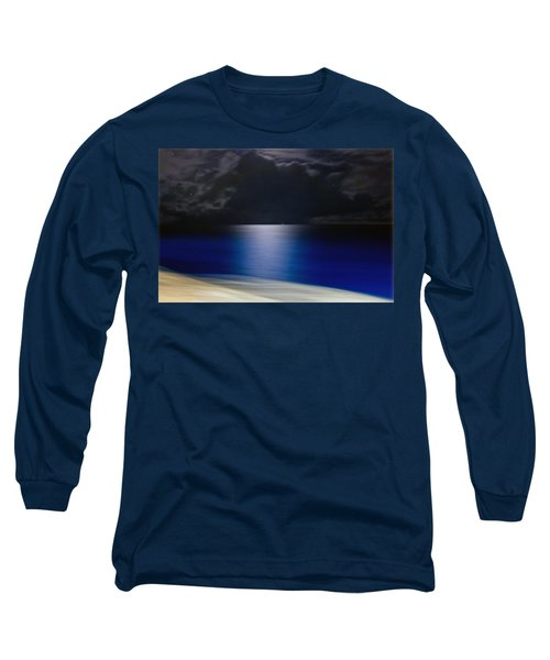 Night And Water Long Sleeve T-Shirt by Hanny Heim