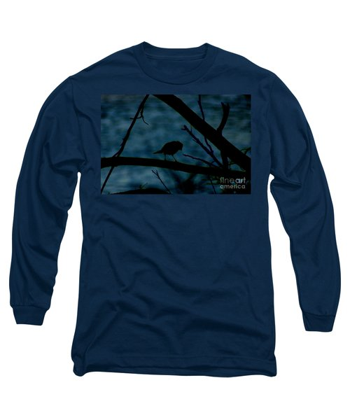 Night Bird Long Sleeve T-Shirt