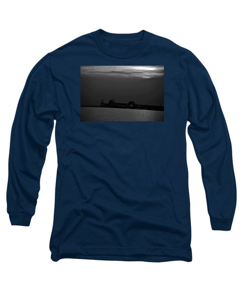 Night Bridge Long Sleeve T-Shirt