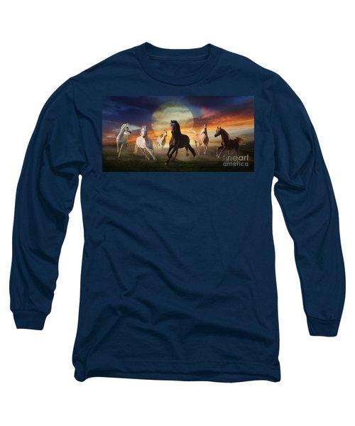 Night Play Long Sleeve T-Shirt
