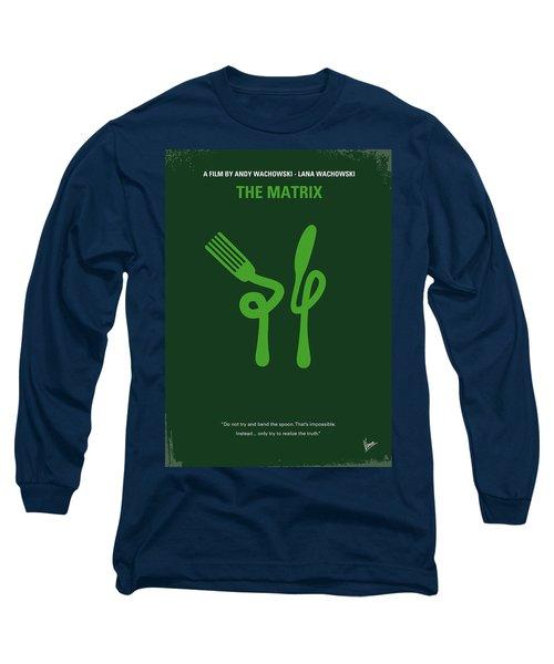 No093 My The Matrix Minimal Movie Poster Long Sleeve T-Shirt