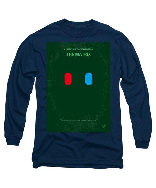 No117 My Matrix Minimal Movie Poster Long Sleeve T-Shirt