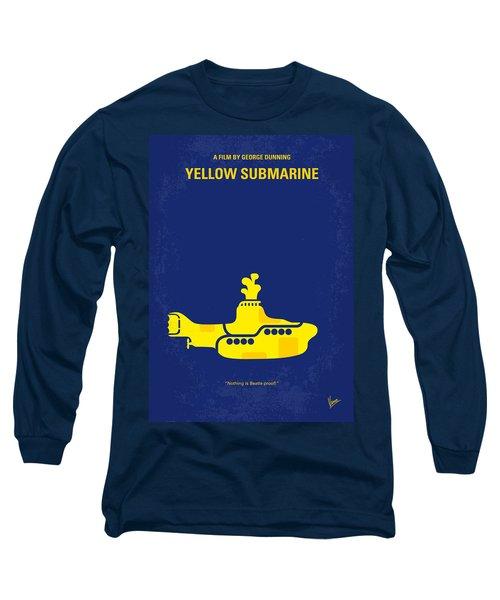 No257 My Yellow Submarine Minimal Movie Poster Long Sleeve T-Shirt