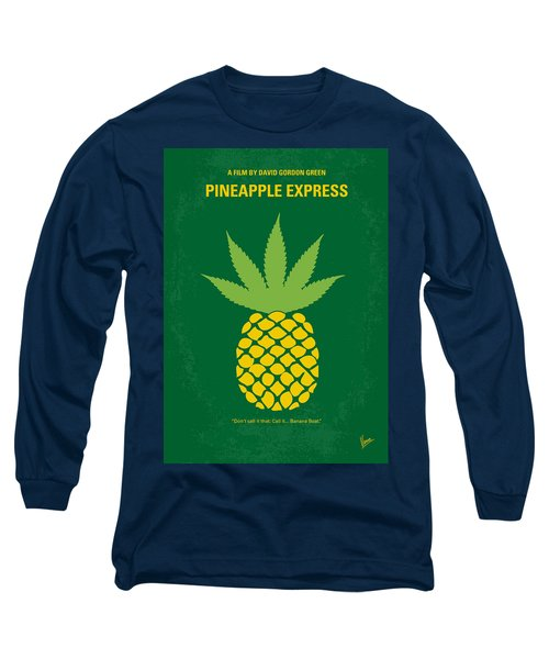 No264 My Pineapple Express Minimal Movie Poster Long Sleeve T-Shirt