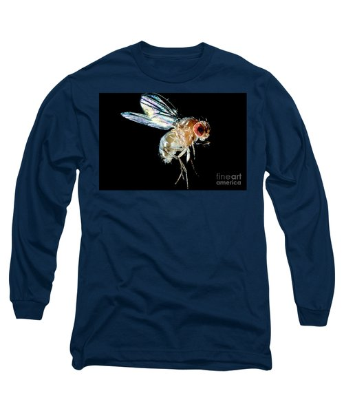 Normal Red-eyed Fruit Fly Long Sleeve T-Shirt