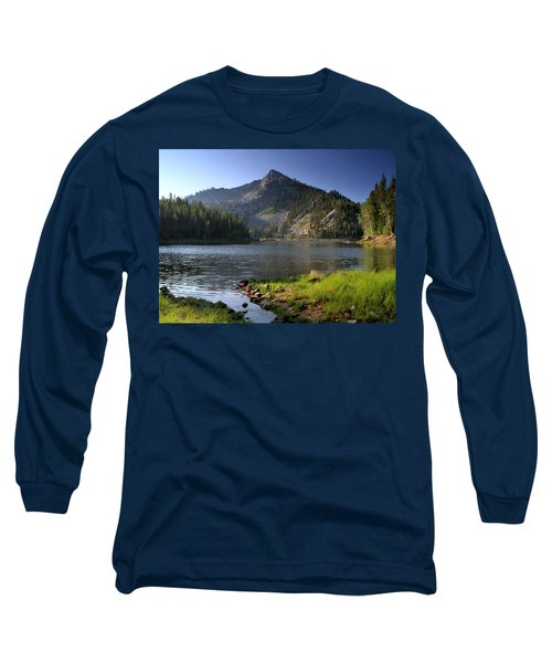 North Face Of Jughandle Mountain Long Sleeve T-Shirt