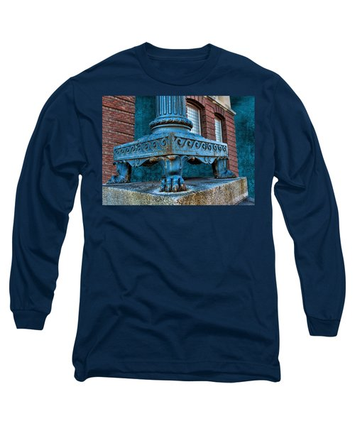 North Platte Post Office Lamp Post Long Sleeve T-Shirt