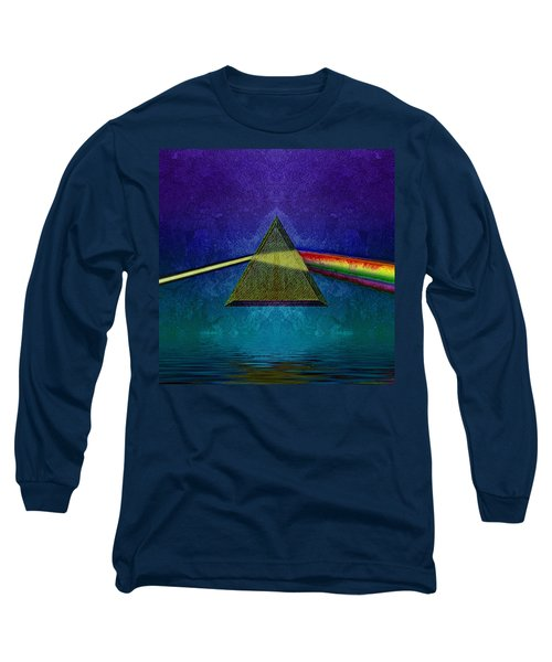 Long Sleeve T-Shirt featuring the digital art Not So Dark Side 2 by WB Johnston