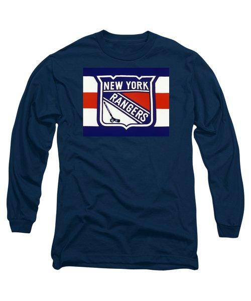 Ny Rangers-7 Long Sleeve T-Shirt