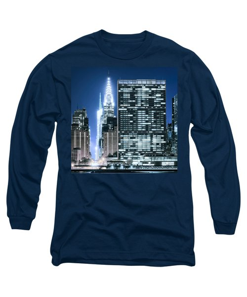 Long Sleeve T-Shirt featuring the photograph Ny Sights by Theodore Jones