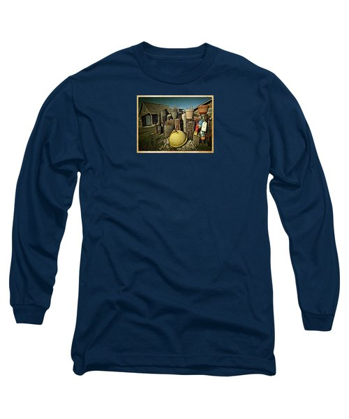 Long Sleeve T-Shirt featuring the photograph Nye Beach Buoys by Thom Zehrfeld