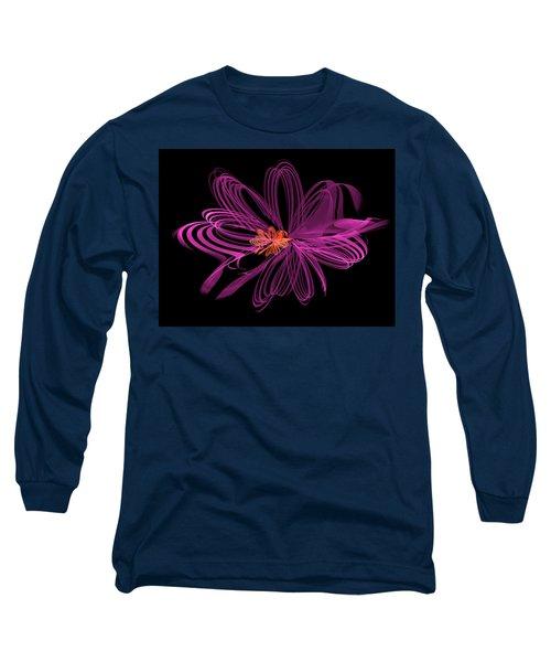 Oblong Loops Long Sleeve T-Shirt by Richard J Cassato