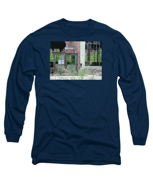 Long Sleeve T-Shirt featuring the photograph Obsolete by Ann Horn