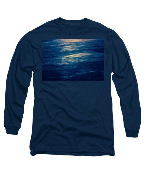 Long Sleeve T-Shirt featuring the photograph Ocean Twilight by Ari Salmela