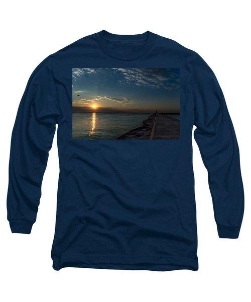 October Sunrise Long Sleeve T-Shirt