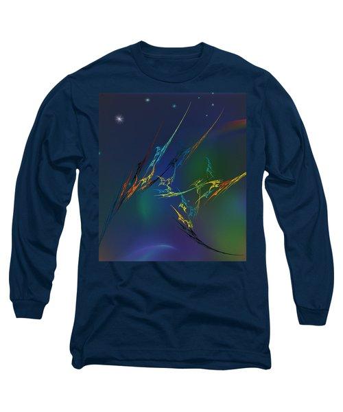 Long Sleeve T-Shirt featuring the digital art Ode To Joy by David Lane
