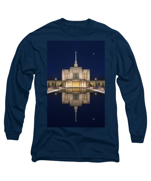 Ogden Temple Reflection Long Sleeve T-Shirt