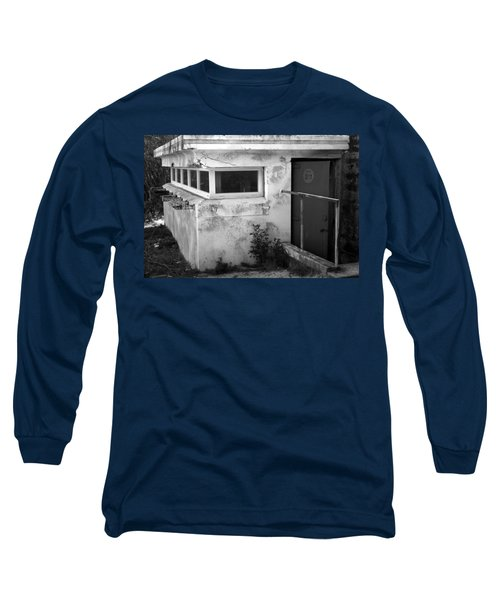 Long Sleeve T-Shirt featuring the photograph Old Army Lookout by Miroslava Jurcik