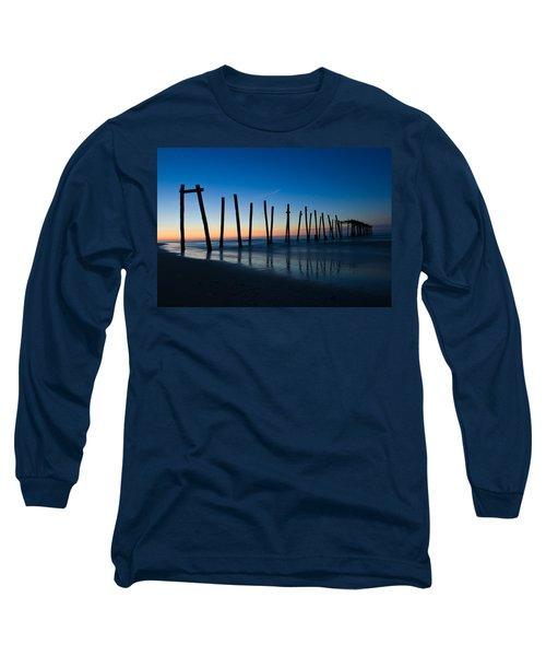 Old Broken 59th Street Pier Long Sleeve T-Shirt