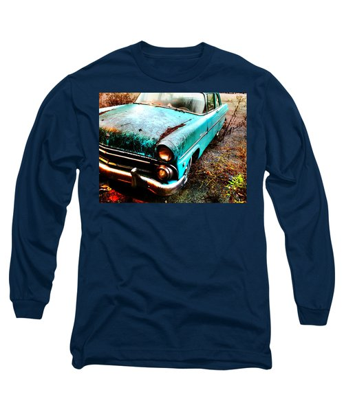 Old Car Long Sleeve T-Shirt by Janice Spivey