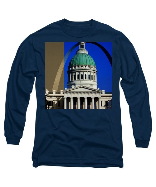 Old Courthouse Dome Arch Long Sleeve T-Shirt