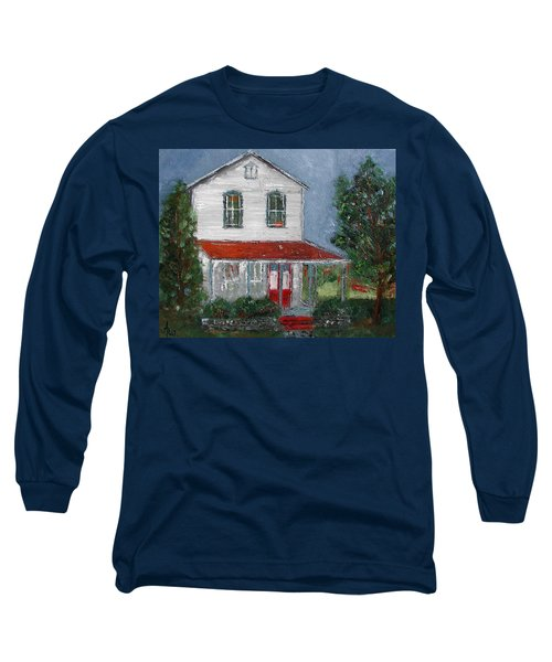 Old Farm House Long Sleeve T-Shirt