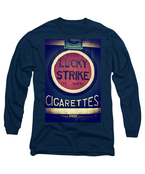 Old Time Cigarettes Long Sleeve T-Shirt
