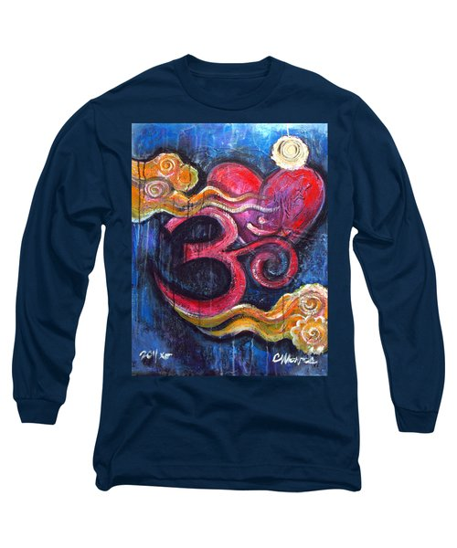 Om Heart Of Kindness Long Sleeve T-Shirt