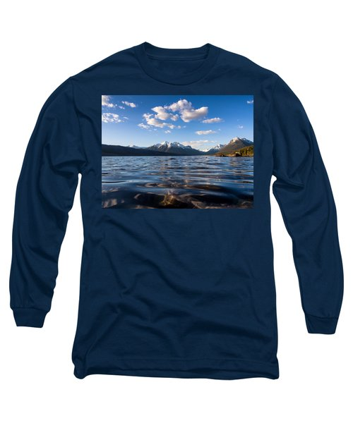 On The Lake Long Sleeve T-Shirt by Aaron Aldrich