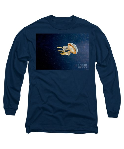 One Jelly Fish Art Prints Long Sleeve T-Shirt