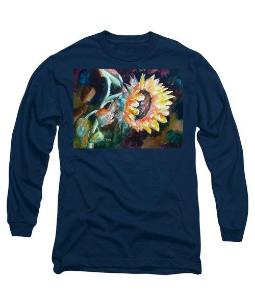 One Sunflower Long Sleeve T-Shirt
