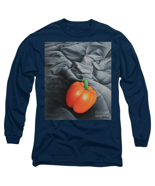 Only Orange Long Sleeve T-Shirt by Pamela Clements