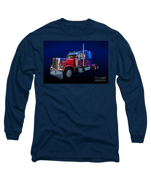 Optimus Prime Blue Long Sleeve T-Shirt
