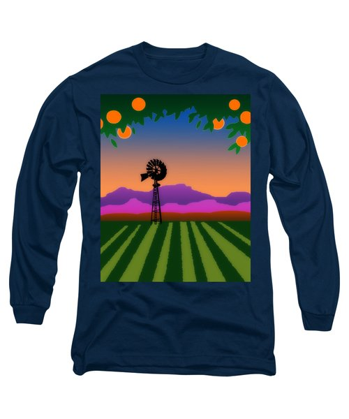 Orange County Long Sleeve T-Shirt