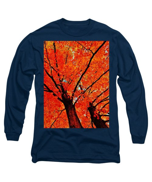 Orange...the New Green Long Sleeve T-Shirt by Daniel Thompson