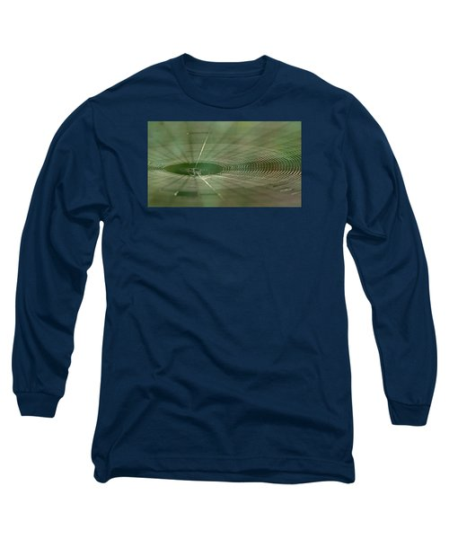 Long Sleeve T-Shirt featuring the photograph Orchard Orbweaver #2 by Paul Rebmann