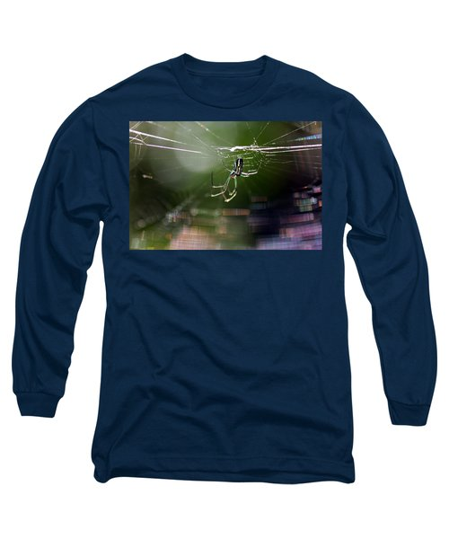 Orchard Web Long Sleeve T-Shirt by Greg Allore