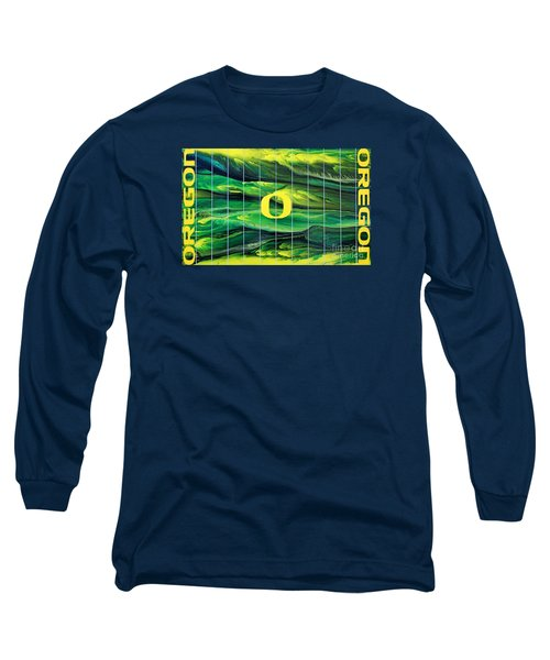 Oregon Football Long Sleeve T-Shirt