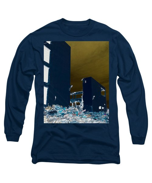 Long Sleeve T-Shirt featuring the photograph Out With The Old by J Anthony