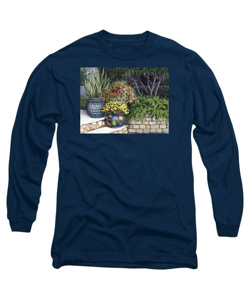 Painted Pots Long Sleeve T-Shirt