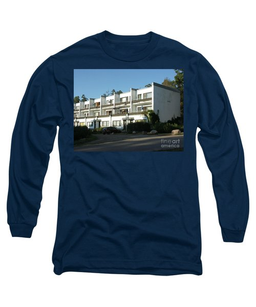 Paivola Building In Sunila Long Sleeve T-Shirt