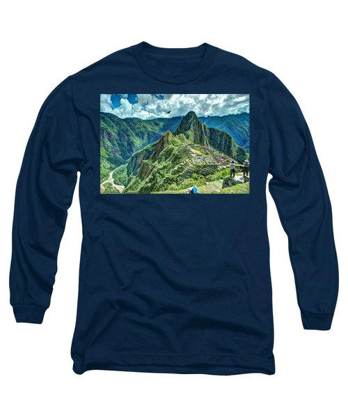 Palace In The Sky Long Sleeve T-Shirt