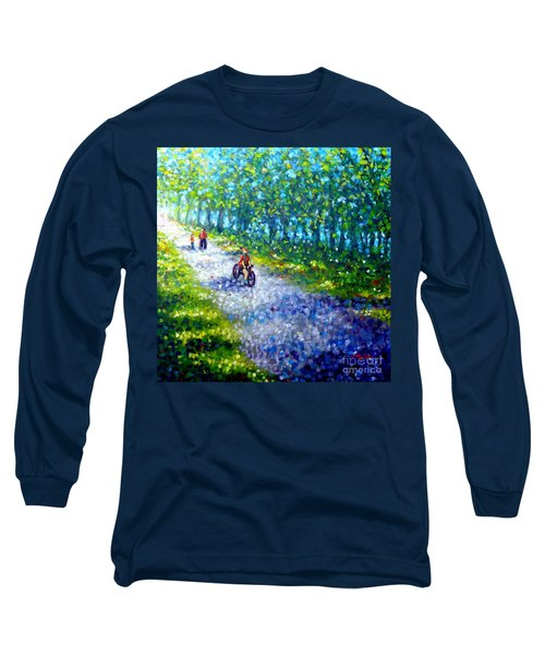 Park On St Helen Island - Montreal Long Sleeve T-Shirt