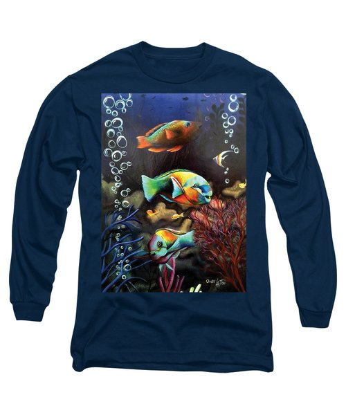 Parrot Fish Long Sleeve T-Shirt
